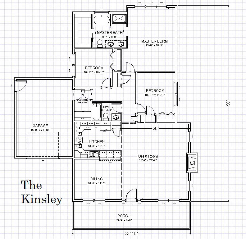 Kinsley - Floor Plan 2