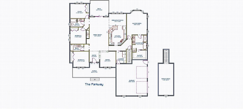 Parkway - Base Floor Plan